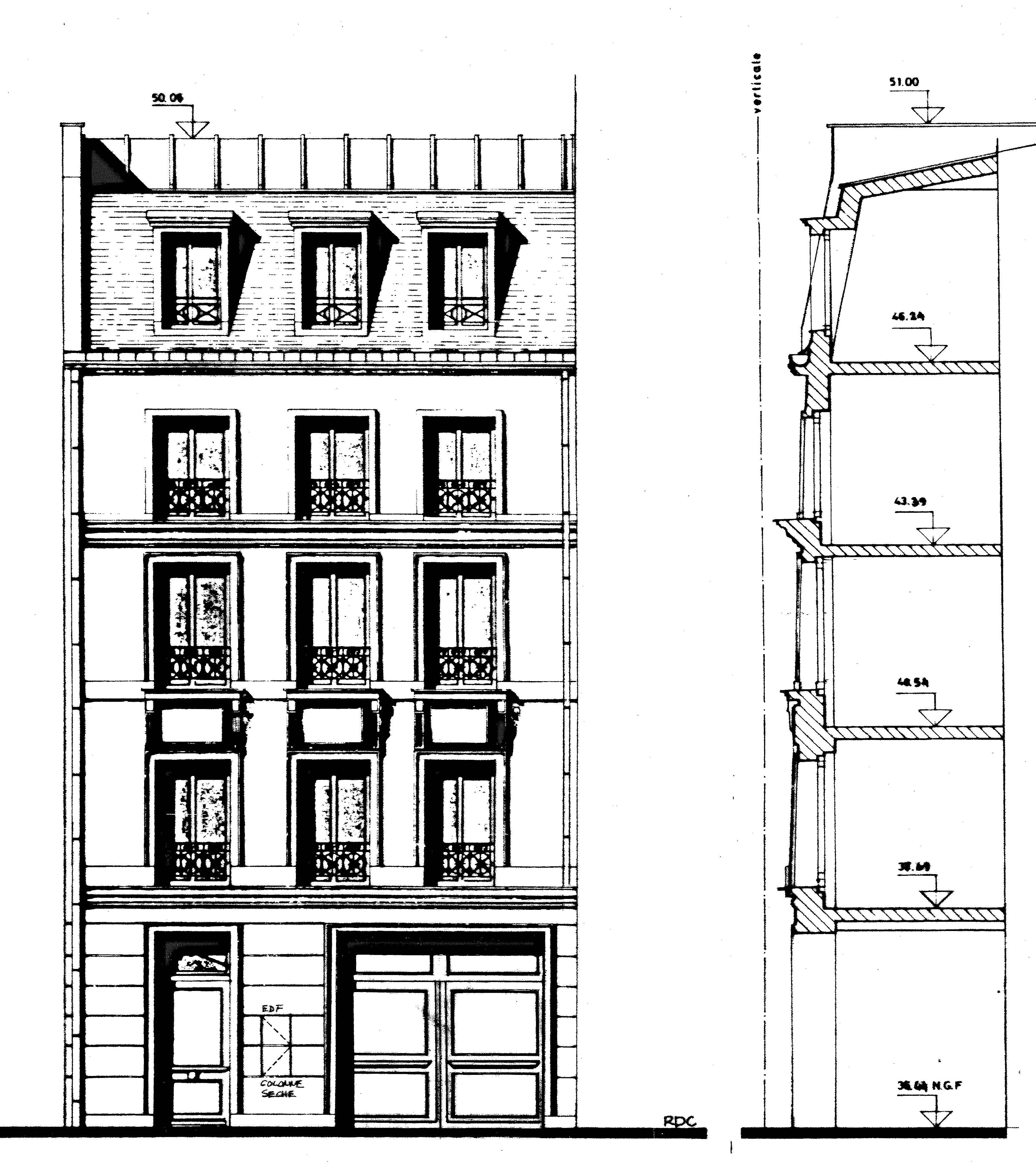 Immeuble logements paris 6 me atelier meinecke - Trouver syndic d un immeuble ...